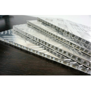 Anti slip honeycomb panel for cable floor